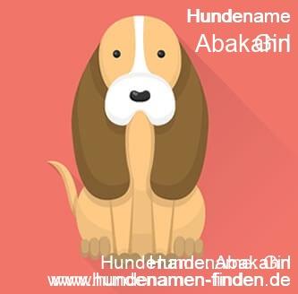 Hundename Abakahn - Hundenamen finden