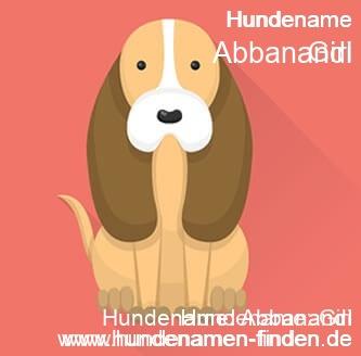 Hundename Abbanandi - Hundenamen finden