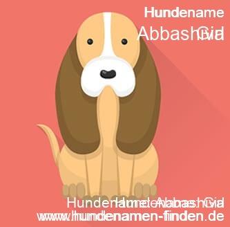 Hundename Abbashiva - Hundenamen finden