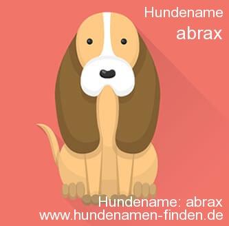 Hundename Abrax - Hundenamen finden