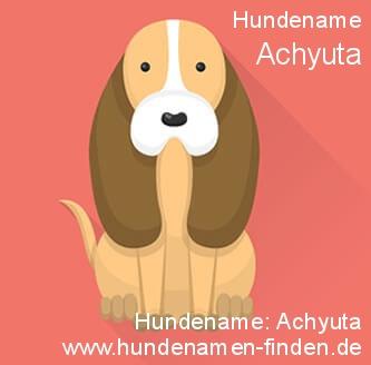 Hundename Achyuta - Hundenamen finden