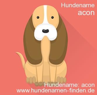 Hundename Acon - Hundenamen finden