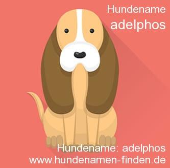 Hundename Adelphos - Hundenamen finden