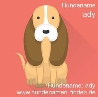 Hundename Ady - Hundenamen finden