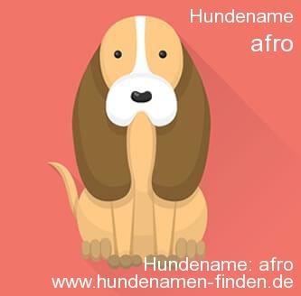 Hundename Afro - Hundenamen finden