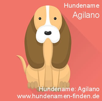Hundename Agilano - Hundenamen finden