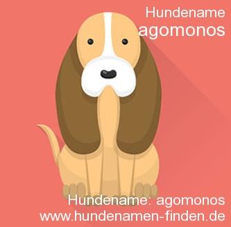 Hundename Agomonos - Hundenamen finden