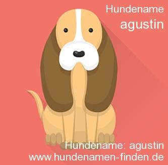 Hundename Agustin - Hundenamen finden