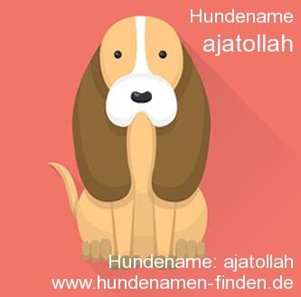 Hundename Ajatollah - Hundenamen finden