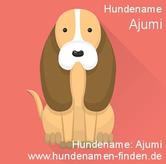 Hundename Ajumi - Hundenamen finden