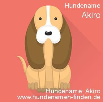 Hundename Akiro - Hundenamen finden