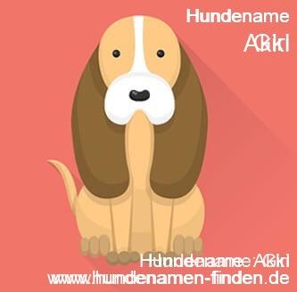 Hundename Akki - Hundenamen finden