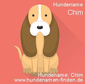 Hundename Chim - Hundenamen finden