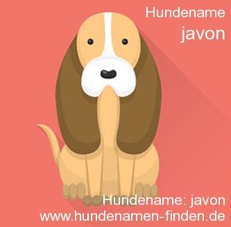 Hundename Javon - Hundenamen finden