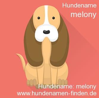 Hundename Melony - Hundenamen finden